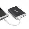 Bateria Externa Universal Celly 10.000MAH 2.1A USB Black