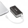 Bateria Externa Universal Celly 4.000MAH USB Black