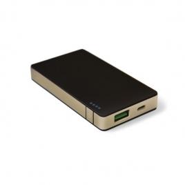 Bateria Externa Universal Celly 4.000MAH USB Black/Gold