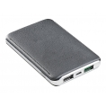 Bateria Externa Universal Celly 5.000MAH Turbo 2.4A USB Silver