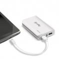 Bateria Externa Universal Celly 6.000MAH USB White