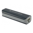 Bateria Externa Universal Conceptronic 2.200MAH USB Black/Grey