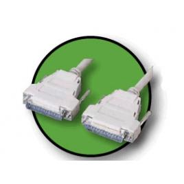Cable Kablex 25 Macho / 25 Macho 2M Conexion Cruzada