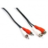 Cable Kablex 2X RCA Macho / 2X RCA Hembra 2M
