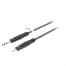 Cable Kablex Audio Jack 6.35 Macho / Jack 3.5MM Macho 1.5M