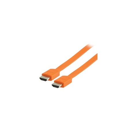 Cable Kablex HDMI 1.4 19 Macho / 19 Macho 2M 3D Orange