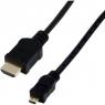 Cable MCL HDMI 19 Macho / Micro HDMI 2M