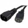 Cable Startech Alimentacion CPU C13 / Monitor C14 0.9M