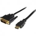 Cable Startech HDMI 19 Macho / DVI 18+1 Macho 1.8M