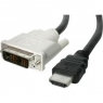 Cable Startech HDMI 19 Macho / DVI 18+1 Macho 1M