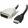 Cable Startech HDMI 19 Macho / DVI 18+1 Macho 3M