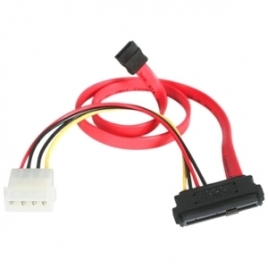 Cable Startech SAS 29P Macho / Sata Macho + Molex 4P Macho