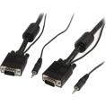 Cable Startech Svga 15 Macho / 15 Macho 2M + Audio Jack