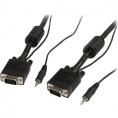 Cable Startech Svga 15 Macho / 15 Macho 5M + Audio Jack