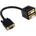 Cable Startech Svga 15 Macho / 2X Svga 15 Hembra 0.3M