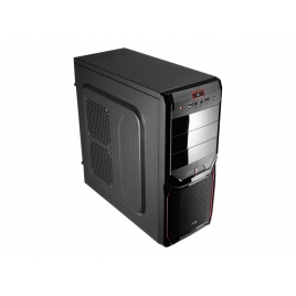 Caja Mediatorre ATX Aerocool PGS V3X Advance Black/Red USB 3.0