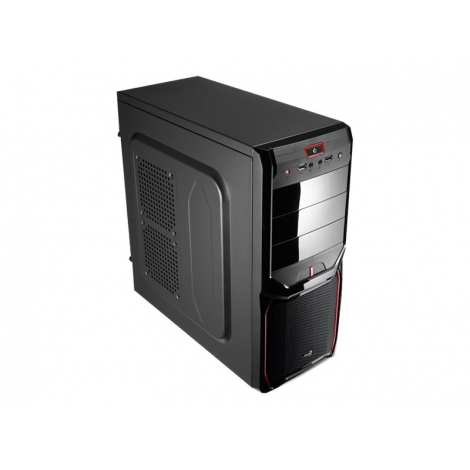 Caja Mediatorre ATX Aerocool PGS V3X Advance Black/Red USB 3.0