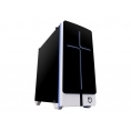 Caja Minitorre Matx Hiditec NG-X2 USB 3.0 Black/White LED 7 Colores