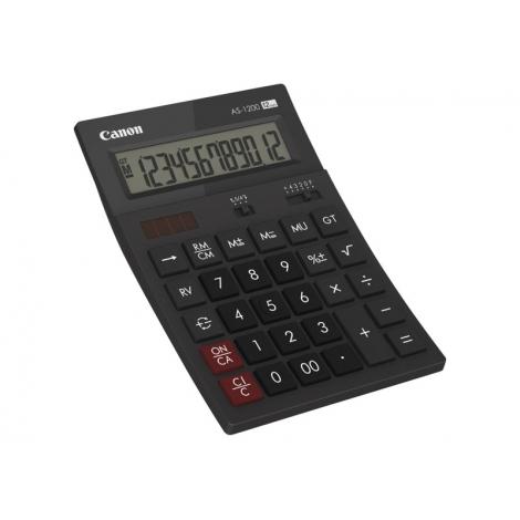 Calculadora Canon AS-1200 Sobremesa Black