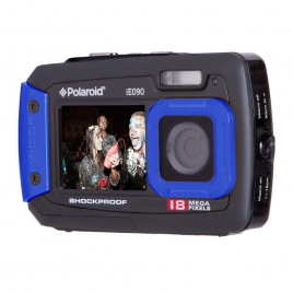 Camara Digital Acuatica Polaroid KIT IE090 18 Mpixel Funda + Palo Selfie Black/Blue