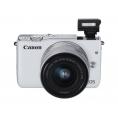 Camara Digital Canon EOS M10 18 Mpixel Objetivo EF-M White