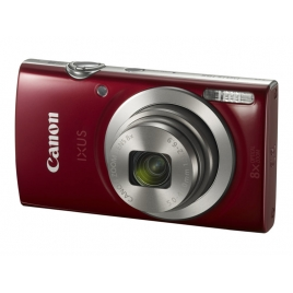 Camara Digital Canon Ixus 185 20 Mpixel 8X/4X Zoom red