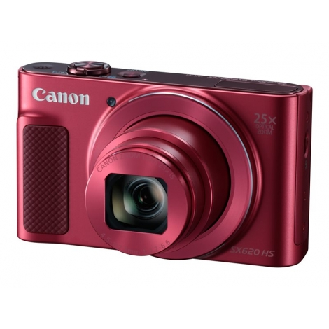 Camara Digital Canon Powershot SX620 HS 20.2 Mpixel 25X Zoom FHD red
