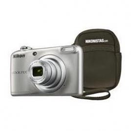 Camara Digital Nikon Coolpix A10 Silver + Funda