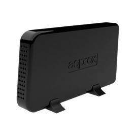"""Carcasa Disco Duro 3.5"""" Approx Sata USB 3.0 Black"""