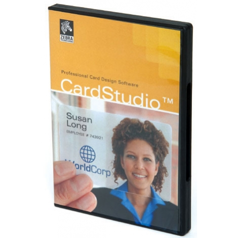 Cardstudio Zebra Classic Edition 1 Usuario CD WIN