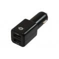 Cargador USB Conceptronic 5V 2Xusb 2.1A para Coche