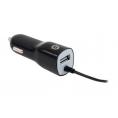 Cargador USB Conceptronic USB + 1 Micro USB 12/24V