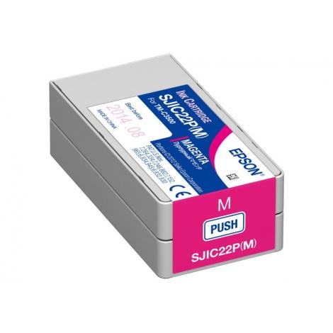 Cartucho Epson Sjic22p Magenta TM-C3500