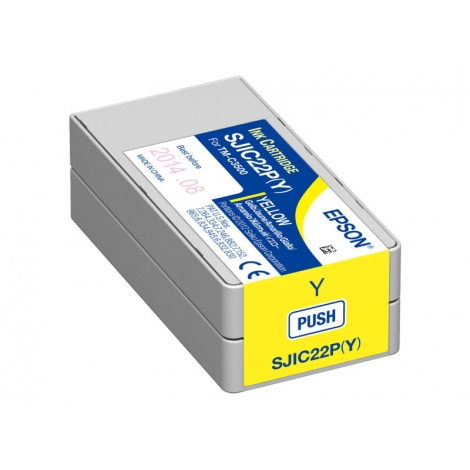 Cartucho Epson Sjic22p Yellow TM-C3500