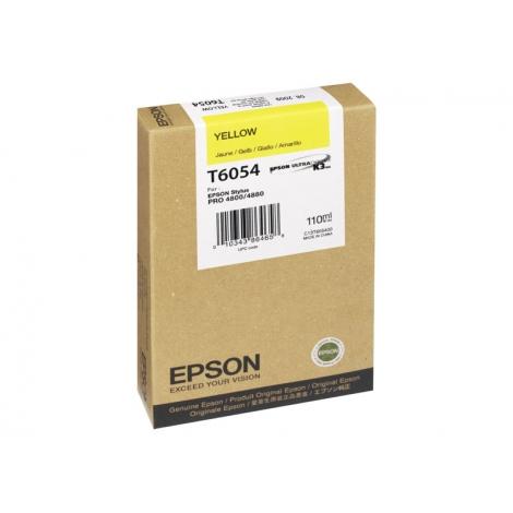 Cartucho Epson T6054 Yellow Stylus PRO 4800 4880