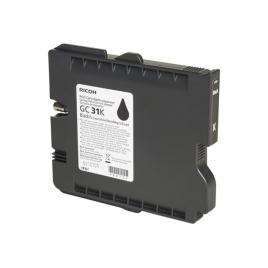Cartucho GEL Ricoh GC31 Black GXE2600 GXE3300 GXE3350 GXE5550 1500 PAG