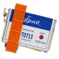 Cartucho Reciclado Iggual Epson T0713 Magenta 13ML