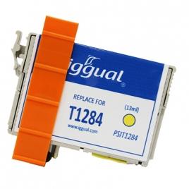 Cartucho Reciclado Iggual Epson T1284 Yellow 13ML