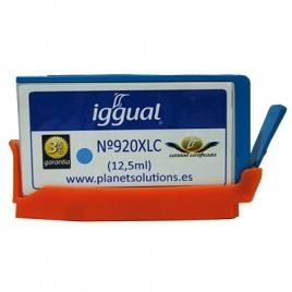 Cartucho Reciclado Iggual HP 920XL Cian 12.5ML