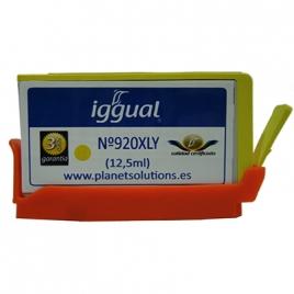 Cartucho Reciclado Iggual HP 920XL Yellow 12.5ML