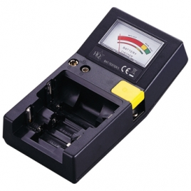 Comprobador de Pilas HQ AAA / AA / C / D / 9V / Pila Boton