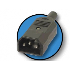 Conector Kablex Alimentacion C14 Macho