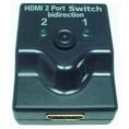 Conmutador Data Switch Kablex HDMI Bidireccional 2 Puertos