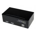 Conmutador KVM Startech 2X1 Profesional MON, TEC, RA USB