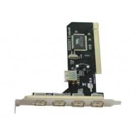 Controladora Nilox USB 2.0 4P EXT + 1P INT PCI