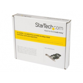 Controladora PCIE Startech Msata 2P + Sata 2P