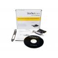 Controladora Startech PCIE 1P Paralelo LP
