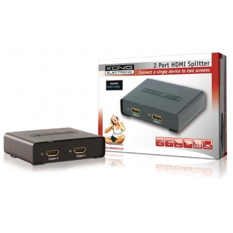 Conversor Konig HDMI / 2 HDMI