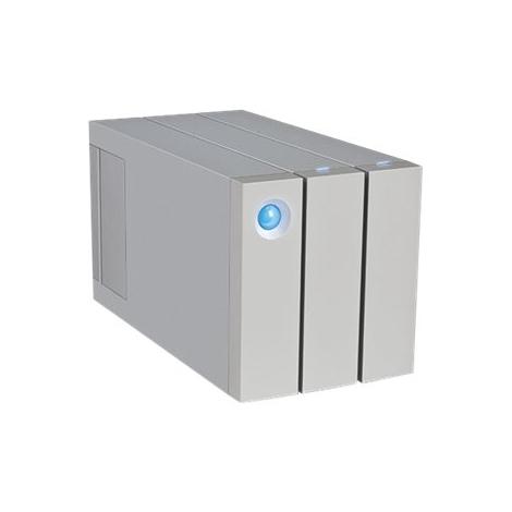 "Disco Duro Lacie 12TB 2BIG 3.5"" USB 3.0 Thunderbolt 2 Silver"