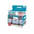 Etiquetas Dymo 100U/Rollo 25X89MM Permanente para Labelwriter 450 Series
